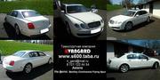 Аренда автомобиля Bentley Continental Flying Spur белого цвета